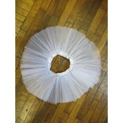 Dziewczęca paczka baletowa 2-warstwowa - sztywny tiul