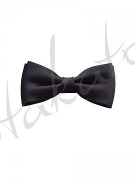 "Junior bow tie with pocket square ""One point"""