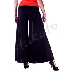 Long pants (culottes) for standard dance