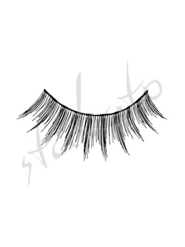Upper eyelashes B2 Kryolan
