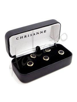 Classic dress studs Chrisanne Clover (set of 5)