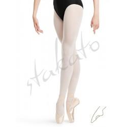 Rajstopy baletowe z dziurką młodzieżowe Stakato