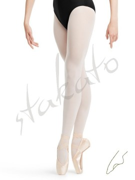 Convertible youth ballet tights