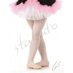 Rajstopy baletowe z dziurką dziecięce Stakato