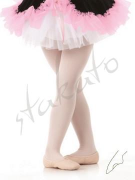 Convertible kid's ballet tights