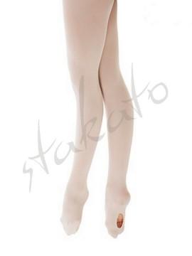 Rajstopy baletowe damskie z dziurką T10 Sansha