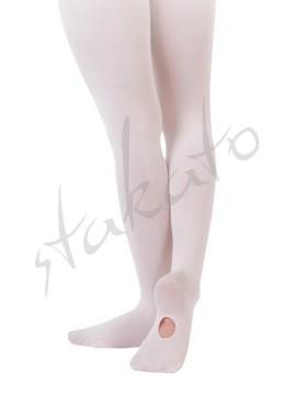 Rajstopy baletowe z dziurką Sansha