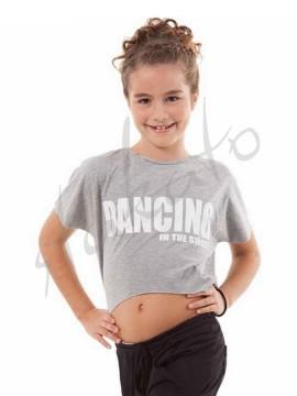Mini top 'Dancing in the street' Sansha