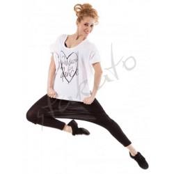 T-shirt nietoperz 'Passion for dance' Sansha Skazz