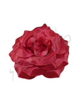 Decorative rose 8cm shiny