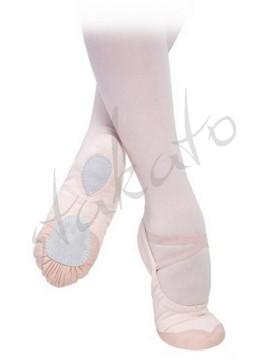 Sansha Bravo7 slippers with leather tips