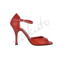 Tangolera model B8 Pitone Rosso