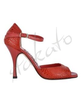 Tangolera style B8 Pitone Rosso