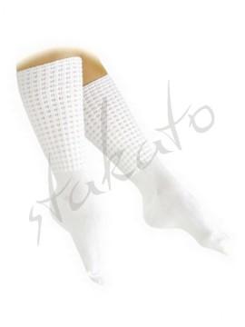 Skarpety do tańca irlandzkiego - poodle socks