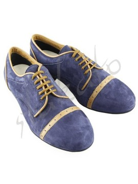 Tangolera 107 Oxford Deep Blue / Camoscio Blue