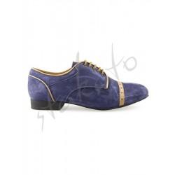 Tangolera model 107 Oxford Deep Blue / Camoscio Blue
