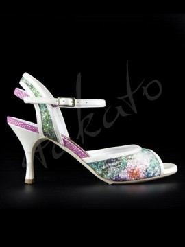 Tangolera model A2 Glittery Flowers