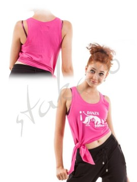 'Danza La Vida!' sleeveless top Sansha Skazz