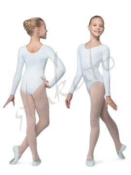 Grishko D03C girls microfibre leotard