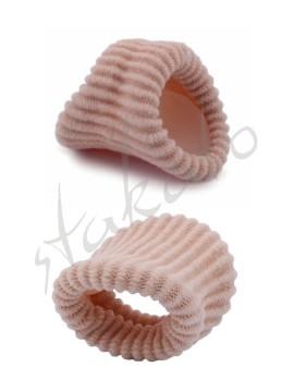 Tekstylna osłona z żelem na palec Geltex
