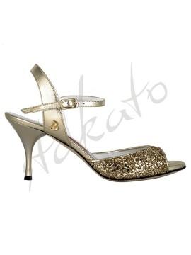 Tangolera style A1 Glitter Platino