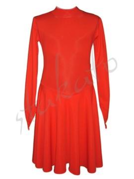 Sukienka PIERWSZE KROKI ze stójką