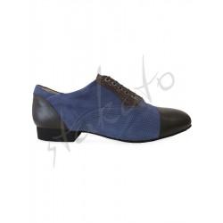 Tangolera model 106 Oxford Blu Brown