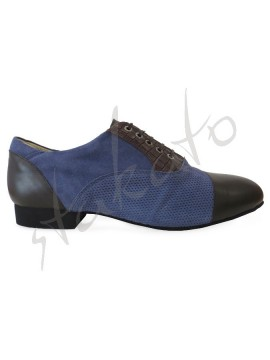 Tangolera model 106 Oxford Blue Brown