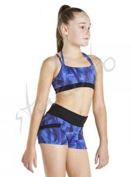 Printed activwear shorts KA018S Bloch