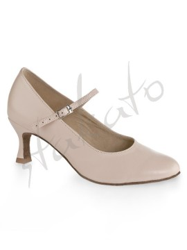 Kozdra model W-212 flesh-pink leather