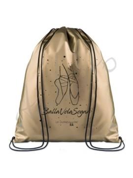 Sportowy plecak - worek metaliczny