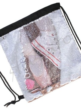 Sequin two-sides bag