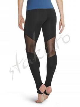 Stirrup legging panelled mesh Kapucine Bloch