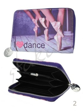 Small wallet I LOVE DANCE