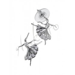 Earrings with ballerina Klara