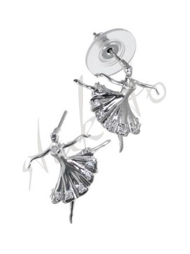 Earrings with ballerina Klara