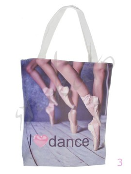 Shoulder bag I LOVE DANCE