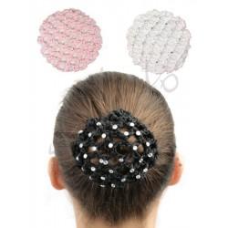 Rhinestone hair net