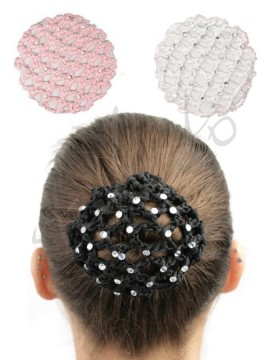 Rhinestone hair net