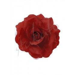 Róża dekoracyjna z tiulem
