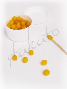Natural beeswax for rhinestones