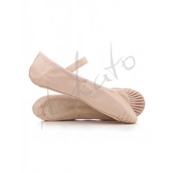 Sewing elastic on pointe shoes (Entrée G)