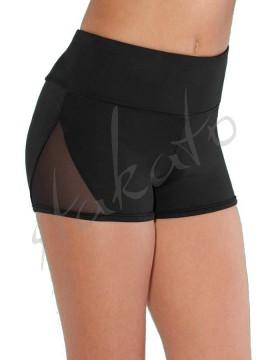 Mesh panelled teen shorts BM253S