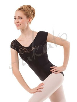 Ladies' leotard with flock Arcene Sansha