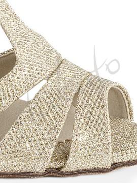 Kozdra model W-333 gold glitter