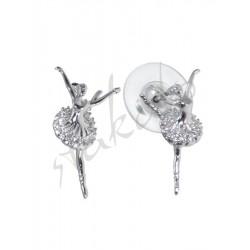 Earrings with ballerina Stella