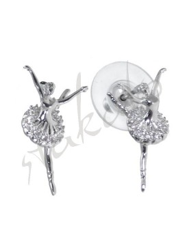 Earrings with ballerina Bella