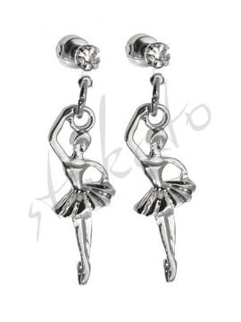 Earrings with ballerina Emma