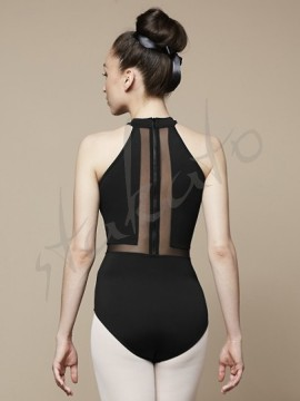 Vita L5525 leotard with flock Bloch