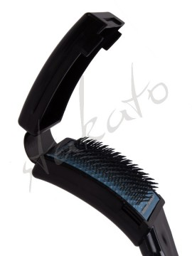 Plastic dance shoe brush